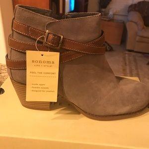Sonoma suede half boots